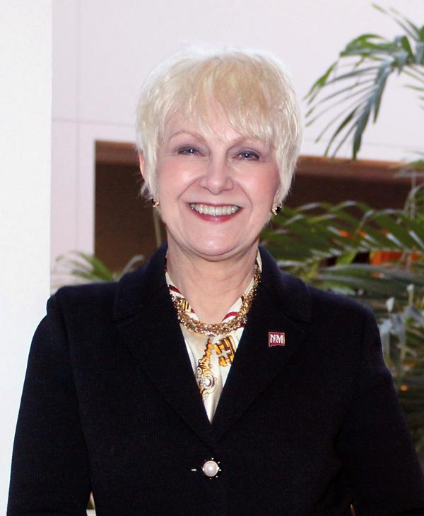 Barbara Couture, president, New Mexico State University