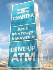 Charter Bank failed in January 2010.