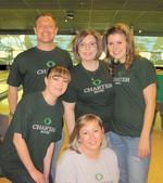 Charter Bank bowls for kids, gives blood to UBS