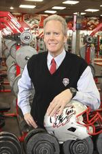 Face of Business: UNM head football Coach Davie says he won't 'over-CEO it' this time