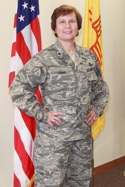 Brig. Gen. Sandra Finan, commander, Air Force Nuclear Weapons Center