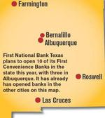 First National Bank Texas enters New Mexico market