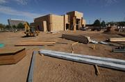 Construction is under way at Winrock Mall for a BJ's Restaurant and Brewhouse.