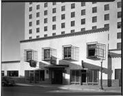 The Hilton Hotel — pictured in 1939, the year it opened — was the first building in New Mexico to have air conditioning. Today, the building is the Hotel Andaluz.