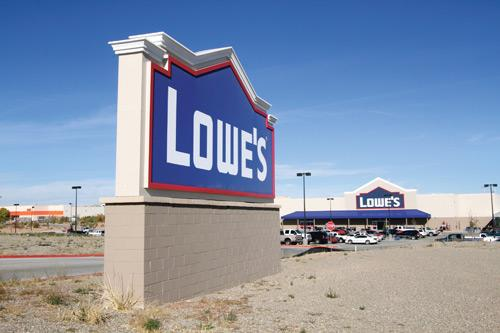 In November, Lowe's said that it will expand its Albuquerque customer support center and add 300 jobs this year.