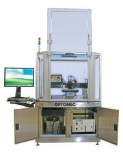 Optomec's Aerosol Jet machine, which uses gold, silver and other alloys to make liquid inks that 'write' electronics onto various materials, such as solar or silicon chips.