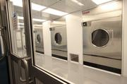 A 1,400-square-foot laundry clean room at MSR-FSR's Mesa del Sol facility. The company will sterilize 40,000 pounds of clean room garments per shift for the semiconductor and other high-tech industry clients.