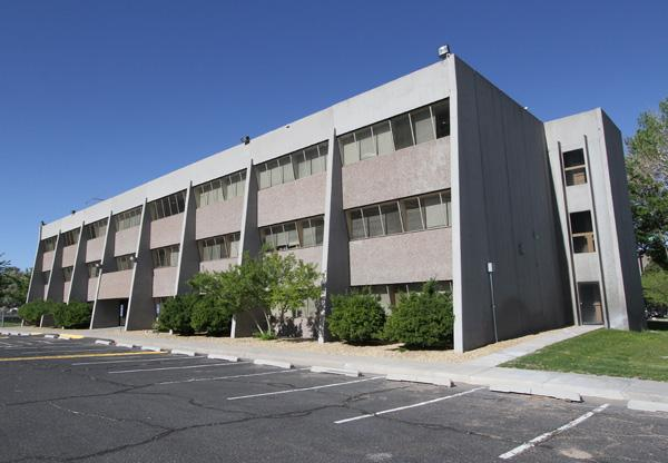 The Air Force Research Laboratory's Phillips Technology Institute has moved off Kirtland Air Force Base to this facility near the Sunport for easier accessibility.