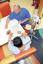 Volunteers play key role in hospital care