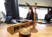 Willow Misty Parks is the probate judge for Bernalillo County, where 1,261 probate cases were filed in the county courts last year.
