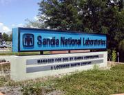 Entrance to Sandia National Laboratories