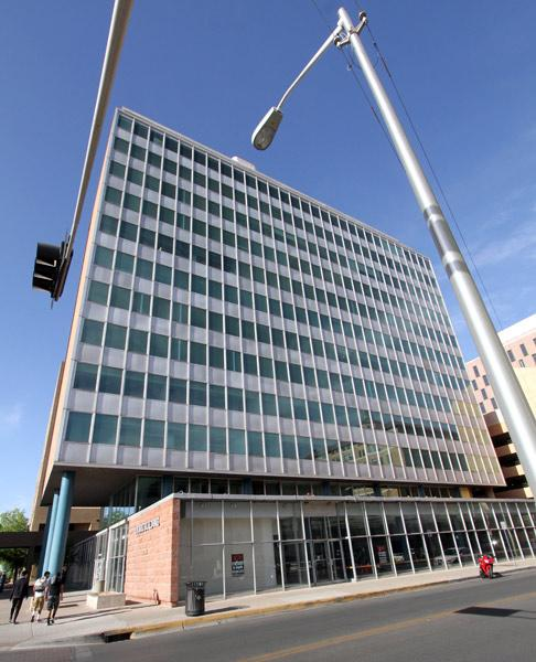 Peterson Properties bought downtown Albuquerque's iconic Simms Building in February for $1.75 million and has launched a $5 million renovation.