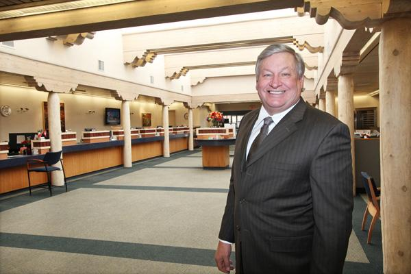 Los Alamos National Bank has entered into an agreement with federal regulators to review its management team and credit underwriting and administrative practices. Pictured is LANB CEO Bill Enloe.