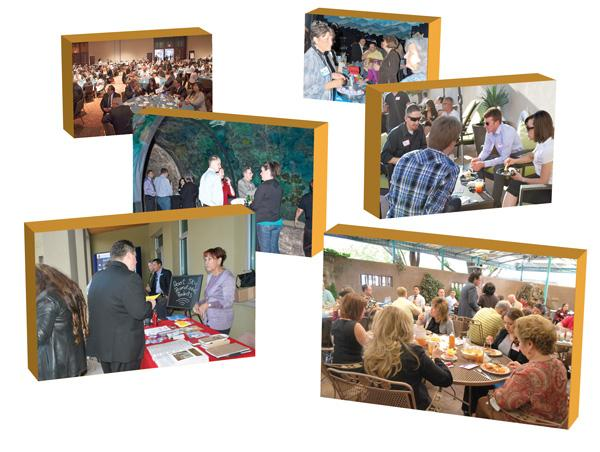Networking occasions like the Albuquerque Hispano Chamber of Commerce and American Indian Chamber of Commerce of New Mexico events pictured help chamber members find new business opportunities.