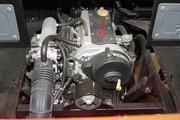 Oreion Motors' 3-cylinder, 5-speed internal combustion engine.