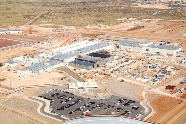 Urenco is steadily increasing production at its uranium enrichment plant in Eunice, N.M.