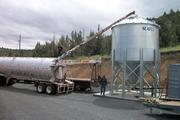 Blue Mountain District Hospital gets wood pellets that it uses to heat the facility from nearby Malheur Lumber Company.