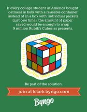Because the world needs more Rubik's cubes.