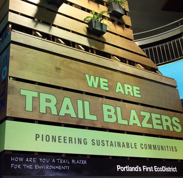 The Trail Blazer's sustainability efforts star in a new report released this week by the Natural Resources Defense Council.
