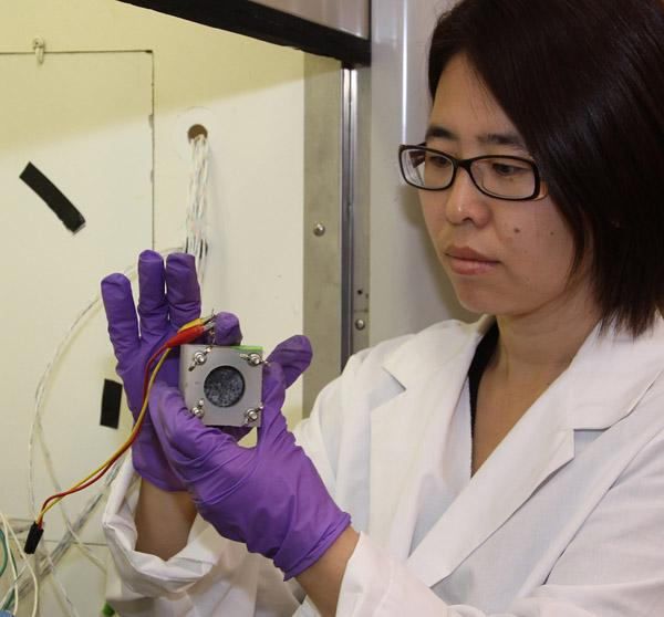 Oregon State University Professor Hong Liu is working on technology that would allow treatment facilities to generate energy using microbes found in wastewater.