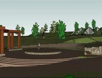 Rendering: The Jardin Portland amphitheater
