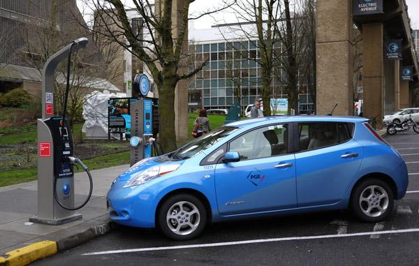 Portland's Electric Avenue is among the features that landed it on a list of 16 global cities leading the electric vehicle movement.