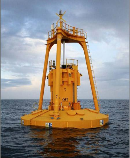 Ocean Power Technologies is moving closer to deployment of a test wave power buoy off the Oregon Coast at Reedsport.
