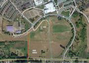 The array is planned for a 2-acre site that's near the campus learning garden.