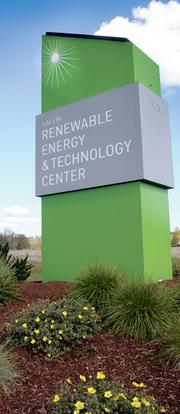 "Salem's Renewable Energy & Technology Center"" was set up as a home to Oregon's solar supply chain."