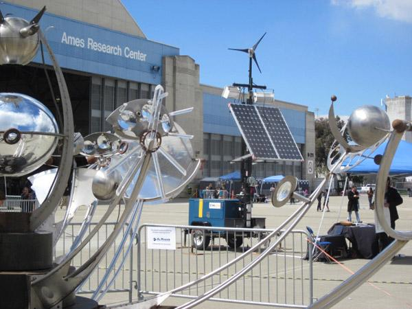 Solamar's custom engineered generators provide carbon-free power for events.