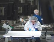 Manufacturing lost jobs for the third month in a row, according to the Bureau of Labor Statistics.