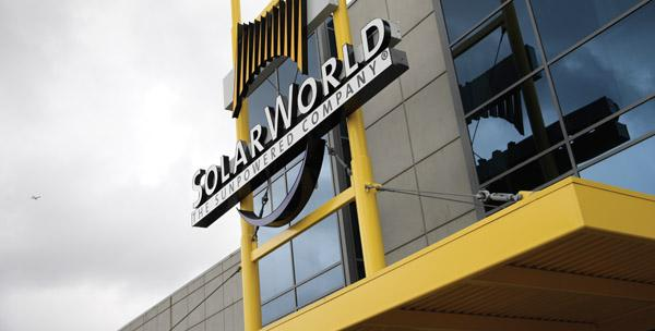 SolarWorld was named in a federal lawsuit by DuPont.