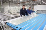 """SoloPower CEO Tim Harris said his company's cost structure is what will make it successful and allow for competitive pricing of the thin-film solar panels. """"Our product will make rooftop solar a no-brainer for the very first time,"""" Harris said."""