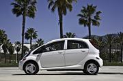 The Mitsubishi iMiEV, or i, was priced less than the Leaf and is available for order.