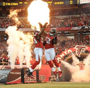 The Atlanta Falcons Thursday scored a final vote of political approval to build a new $1 billion stadium.