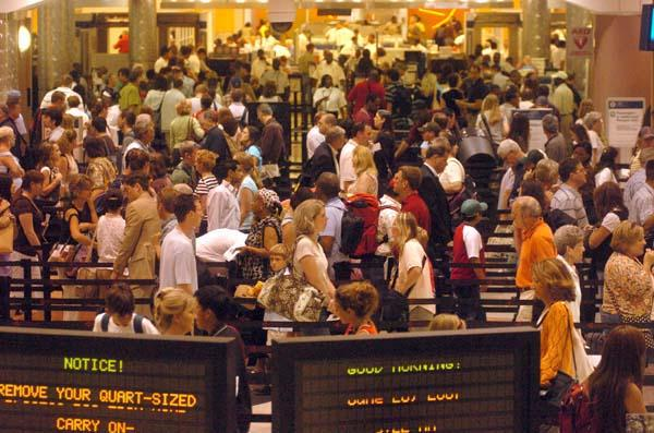Hartsfield-Jackson, world's most crowded airport.