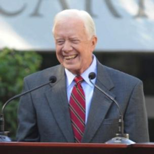Former President Jimmy Carter will address DNC delegates in Charlotte via video.