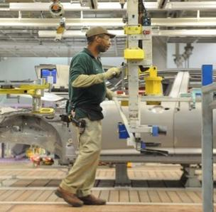 The Peach State's manufacturing sector grew for the first time in months in January.