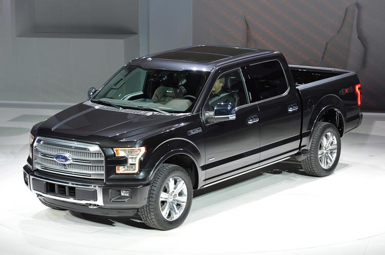 The 2015 Ford F-150 will be mostly made of aluminum.