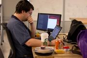 Hackathon winner Roger Pincombe.