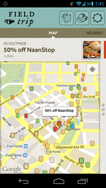 Scoutmob launches location-based deal notification