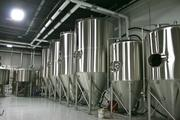 The fermenters at Monday Night Brewing.