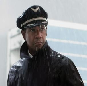 "Denzel Washington in ""Flight."" He's coming to Boston, next, to film a Hollywood remake of ""The Equalizer."""