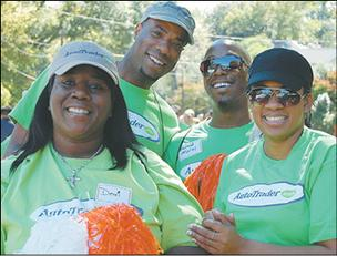 SPIRIT STATION: AutoTrader.com employees at the AIDS Walk Atlanta & 5K Run.