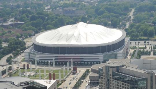 The Georgia Dome opened in 1992.