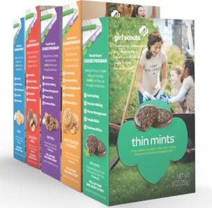 Girl Scout Cookie packages are getting their first makeover since 1999.