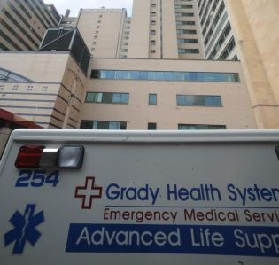 Grady Memorial Hospital could suffer a $25 million shortfall in funding from Fulton County, its largest government benefactor.