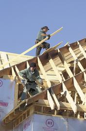 """Roofer tops a new list of the """"10 unhappiest jobs"""" in America."""