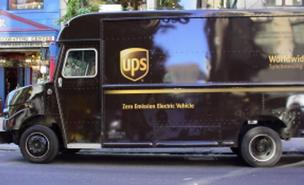 New UPS electric trucks deployed in California
