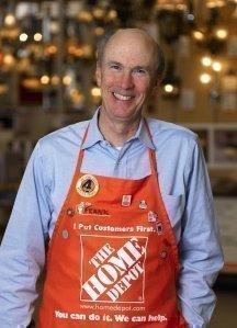 Home Depot raises CEO Frank Blake's total compensation
